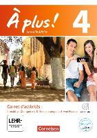 Cover-Bild zu À plus! 4. Nouvelle édition. Carnet d'activités mit CD-Extra von Jorissen, Catherine