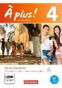 Cover-Bild zu À plus! 4. Nouvelle édition. Carnet d'activités von Jorißen, Catherine