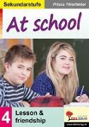 Cover-Bild zu At school / Sekundarstufe (eBook) von Thierfelder, Prisca