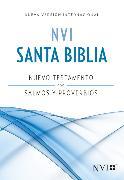 Cover-Bild zu NVI Nuevo Testamento con Salmos y Proverbios