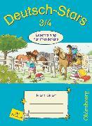 Cover-Bild zu Deutsch-Stars, Allgemeine Ausgabe, 3./4. Schuljahr, Lesetraining für Pferdefans, Übungsheft, Mit Lösungen von Scholtes, Cornelia