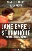 Cover-Bild zu Jane Eyre & Sturmhöhe (Zweisprachige Ausgabe: Deutsch-Englisch) (eBook) von Brontë, Charlotte