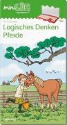 Cover-Bild zu miniLÜK. Vorschule: Pferde - Logisches Denken von Wagner, Christiane