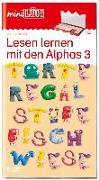Cover-Bild zu miniLÜK - Lesen lernen mit den Alphas 3