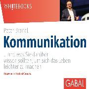 Cover-Bild zu Kommunikation (Audio Download) von Brandl, Peter