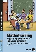 Cover-Bild zu Mathetraining 7./8. Klasse Band 2 - Ergänzungsband von Penzenstadler, Brigitte