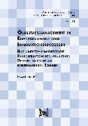 Cover-Bild zu Qualitätsmanagement in Entwicklungs- und Innovationsprozesse (eBook) von Kranert, Thomas