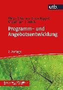 Cover-Bild zu Programm- und Angebotsentwicklung (eBook) von Fleige, Marion