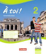 Cover-Bild zu À toi! 2. Handreichungen für den Unterricht. Lehrermaterialien