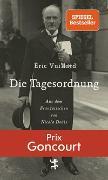 Cover-Bild zu Vuillard, Éric: Die Tagesordnung