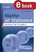 Cover-Bild zu Mathe an Stationen (eBook) von Breidenbach, Christine