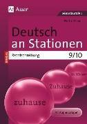 Cover-Bild zu Deutsch an Stationen spezial Rechtschreibung 9-10 von Röser, Winfried