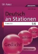 Cover-Bild zu Deutsch an Stationen SPEZIAL Textsorten 5-6 von Röser, Winfried