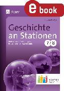 Cover-Bild zu Geschichte an Stationen 7-8 Inklusion (eBook) von Hertje, Victoria