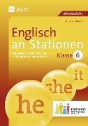 Cover-Bild zu Englisch an Stationen 6 Inklusion von Hertje, Victoria