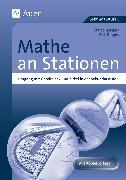 Cover-Bild zu Mathe an Stationen, Umgang mit Geodreieck & Zirkel von Bettner, Marco