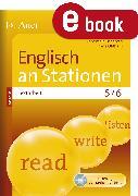 Cover-Bild zu Englisch an Stationen SPEZIAL Textarbeit 5-6 (eBook) von Kleinschroth, Robert
