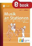 Cover-Bild zu Musik an Stationen Inklusion 4 (eBook) von Kurzius-Beuster, Babett