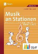 Cover-Bild zu Musik an Stationen Inklusion 1/2 Klasse von Kurzius-Beuster, Babett
