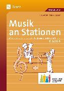 Cover-Bild zu Musik an Stationen Inklusion 4 von Kurzius-Beuster, Babett