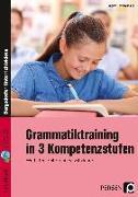 Cover-Bild zu Grammatiktraining in 3 Kompetenzstufen 5./6. Kl von Penzenstadler, Brigitte