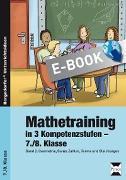 Cover-Bild zu Mathetraining in 3 Kompetenzstufen - 7./8. Klasse (eBook) von Penzenstadler, Brigitte