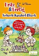 Cover-Bild zu Fritz & Fertig Schach-Knobel-Block (eBook) von Hilbert, Jörg