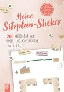 """Cover-Bild zu Meine Sitzplansticker """"live - love - teach"""""""