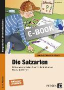 Cover-Bild zu Die Satzarten (eBook) von Weber, Nicole
