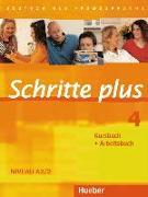 Cover-Bild zu Schritte plus 4. A2/2. Kursbuch + Arbeitsbuch von Hilpert, Silke