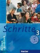 Cover-Bild zu Schritte 3. Kursbuch und Arbeitsbuch mit CD von Hilpert, Silke