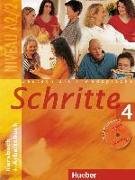 Cover-Bild zu Schritte 4. Kursbuch und Arbeitsbuch mit Audio-CD zum Arbeitsbuch von Hilpert, Silke
