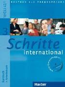Cover-Bild zu Schritte international 3. Kursbuch + Arbeitsbuch mit Audio-CD zum Arbeitsbuch und interaktiven Übungen von Hilpert, Silke