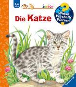 Cover-Bild zu Wieso? Weshalb? Warum? junior: Die Katze (Band 21) von Mennen, Patricia