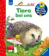 Cover-Bild zu Wieso? Weshalb? Warum? junior: Tiere bei uns - Band 33 von Mennen, Patricia