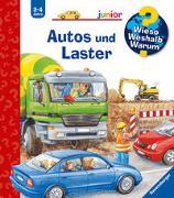 Cover-Bild zu Wieso? Weshalb? Warum? junior: Autos und Laster (Band 11) von Erne, Andrea