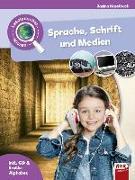 Cover-Bild zu Leselauscher Wissen: Sprache, Schrift und Medien (inkl. CD) von Haselbach, Janina