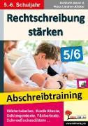 Cover-Bild zu Rechtschreibung stärken / Klasse 5-6 von Maier, Gerlinde