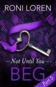 Cover-Bild zu Beg (eBook) von Loren, Roni