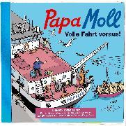Cover-Bild zu Papa Moll Volle Fahrt voraus! von Krejci, Kamil (Gelesen)