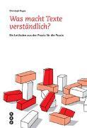 Cover-Bild zu Was macht Texte verständlich? von Ragaz, Christoph