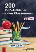 Cover-Bild zu 200 DaZ-Aufkleber für den Klassenraum von Redaktionsteam Verlag an der Ruhr