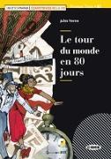 Cover-Bild zu Le tour du monde en 80 jours. Lektüre + Audio-CD + Audio-App von Verne, Jules