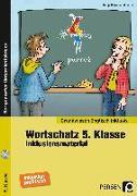 Cover-Bild zu Wortschatz 5. Klasse - Inklusionsmaterial Englisch von Brize, Nadja