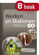 Cover-Bild zu Werken an Stationen Klasse 7-8 (eBook) von Henning, Christian