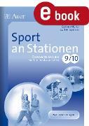 Cover-Bild zu Sport an Stationen 9 10 (eBook) von Müller, Corinna