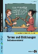 Cover-Bild zu Terme und Gleichungen - Inklusionsmaterial von Spellner, Cathrin