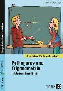 Cover-Bild zu Pythagoras und Trigonometrie - Inklusionsmaterial von Spellner, Cathrin