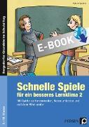 Cover-Bild zu Schnelle Spiele für ein besseres Lernklima 2 (eBook) von Spellner, Cathrin