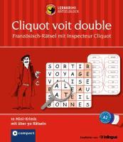 Cover-Bild zu Lernkrimi-Rätselblock: Französisch-Rätsel mit Inspecteur Cliquot